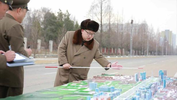 North Korean leader declares construction of Ryomy