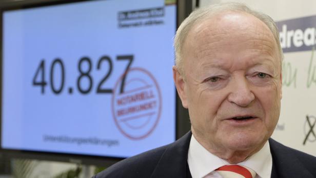 BP-WAHL: PRÄSENTATION DER UNTERSTÜTZUNGSERKLÄRUNGE