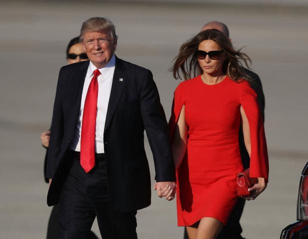 US-DONALD-TRUMP-SPENDS-THE-WEEKEND-IN-PALM-BEACH