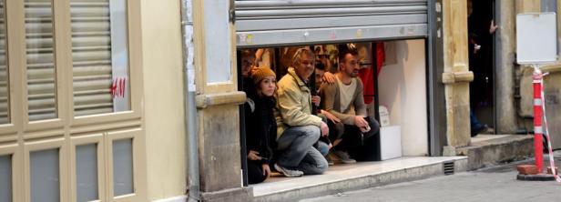 Passanten suchten Schutz in Läden