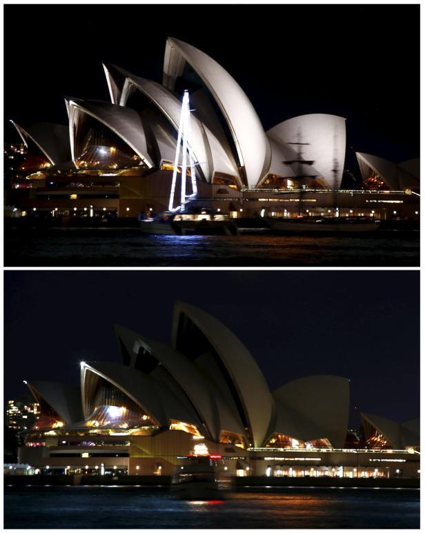Sydneys Opernhaus heute - ohne Strahlkraft