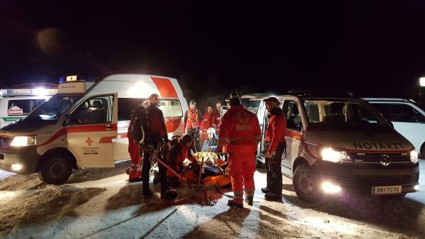 Ein 34-Jähriger ist im Jänner beim Eisklettern in Annaberg (NÖ) 20 Meter ins Seil gestürzt