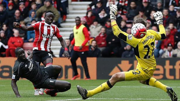 Sadio Mané kam nach der Pause in die Partie und schoss zwei Tore.