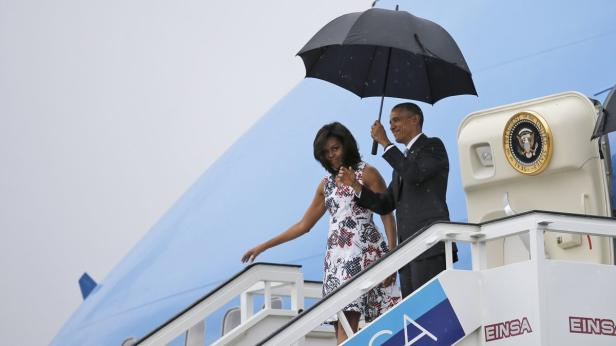 U.S. President Barack Obama and his wife Michelle
