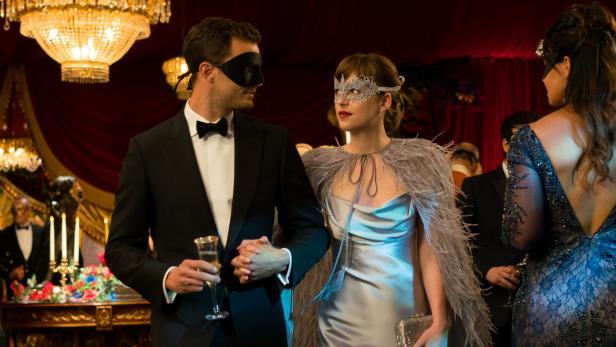 Dakota mit Filmpartner Jamie Dornan
