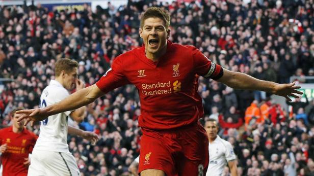 Torschütze Steven Gerrard