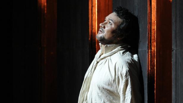 Ramón Vargas als Don Carlo: tapfer bis zum Finale