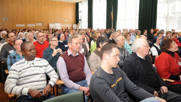 Austausch ist wichtig, deshalb auch das intensive Programm bei dem Treffen in der Landeshauptstadt
