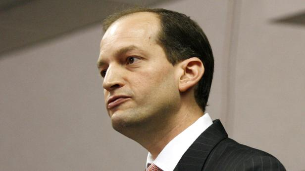 File Photo: US Attorney Acosta holds news conferen