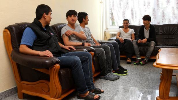 Asylanten in Gablitz, Jugendliche unbegleitete…