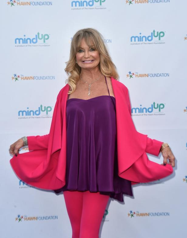 US-GOLDIE-HAWN-HOSTS-ANNUAL-GOLDIE'S-LOVE-IN-FOR-K