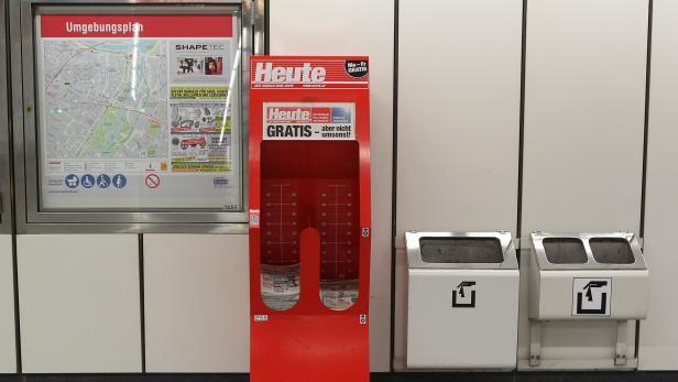 Zeitungsständer, Dispenser, Box…