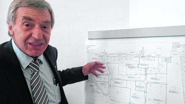 Kabelwerk-Chef Manfred Wasner ist optimistisch.