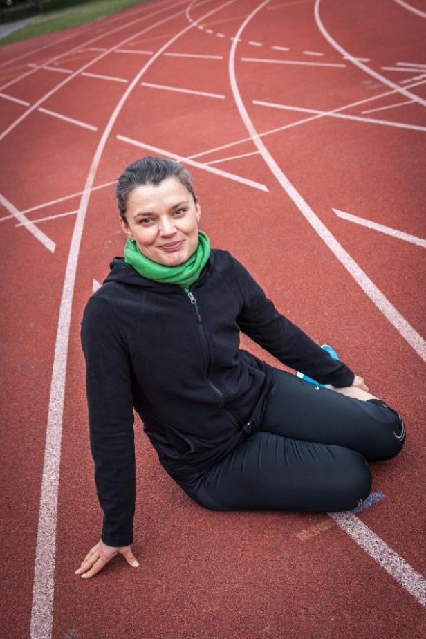 """Laufen ist für Romana """"Yoga für den Kopf"""""""