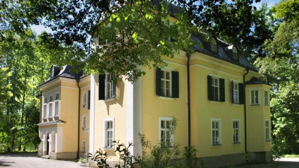 Die Trapp-Villa in Salzburg-Aigen, in der die Familie bis 1938 lebte