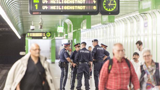 Vor allem die U4 und die U6 sind im Visier der Wiener Polizei