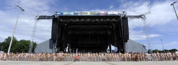 """""""Naked Heart beim Frequency Festival 2015: Macht Euch"""