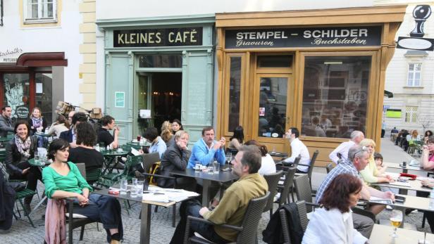 Schanigärten in Wien…