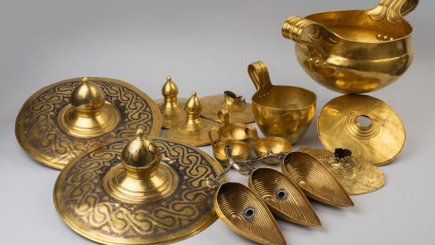 Schatz von Valcitran, das erste Gold, KHM…