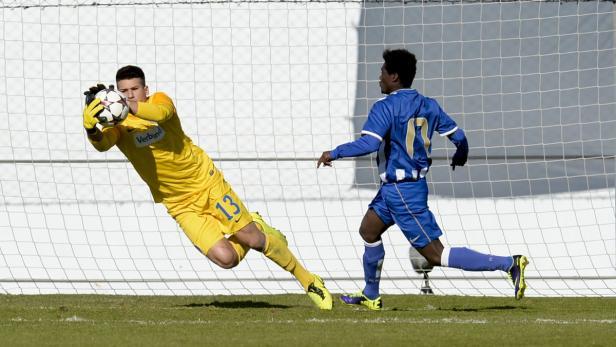 2013: Osman Hadzikic im Einsatz gegen Porto
