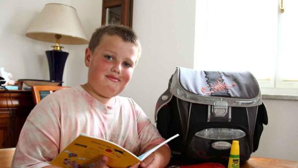 Carina Wandl (10) geht in Niederösterreich in die Schule. Fotos von Philipp, Merle und Lisa (siehe unten).