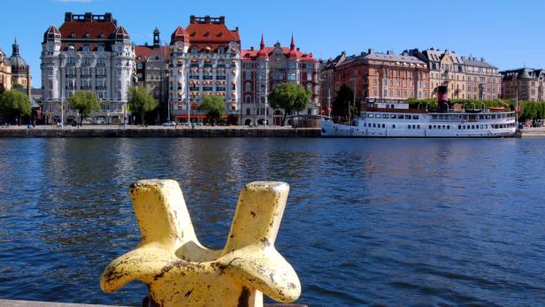 Stockholm – prächtige Bauten, umspült von der Ostsee.