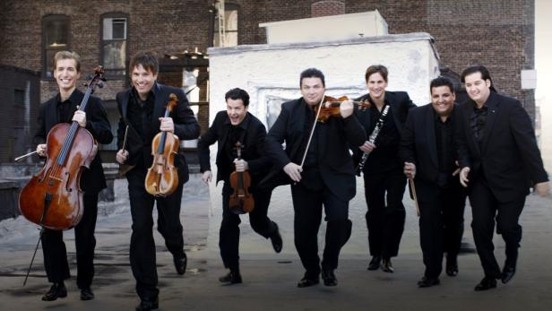 Grandiose Musiker: The Philharmonics spielen ganz groß auf.