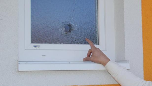 WC-Fenster wurden eingeschossen