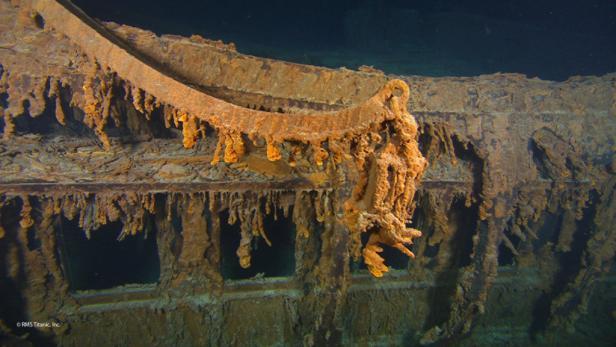 Wrack der Titanic