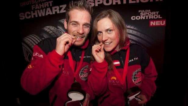 Die Österreicher Florian Grasl und Lisa Fail konnten die Challenge 2011 gewinnen. Der Preis: Ein Gold Nugget.