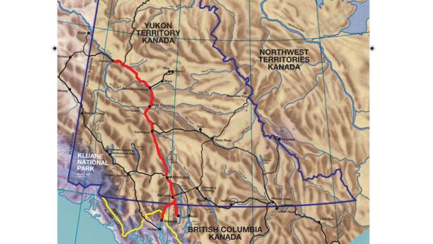 Route der Fulda Challenge
