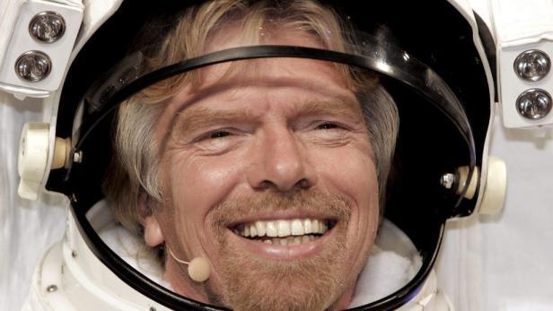 Losgelöst: Noch dieses Jahr möchte Milliardär Richard Branson seine Kinder und drei zahlende Kunden in 100 Kilometer Höhe befördern.