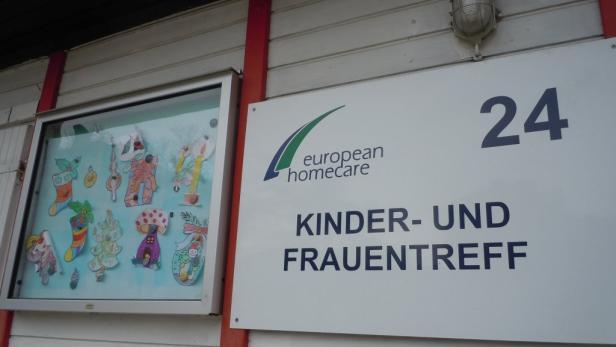 Die Kinderbetreuungsstelle im Lager wird immer mehr gebraucht
