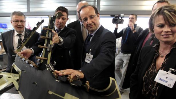 Comeback für die Arbeiterklasse? Sozialistenchef Hollande will für Jobs in der Industrie kämpfen.