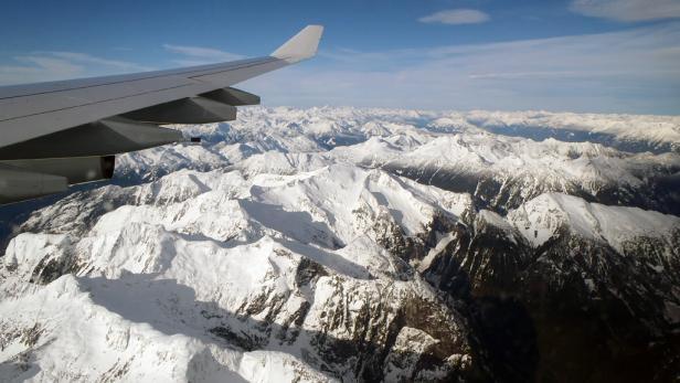 Trotz müdem Sitzfleisch wunderbar: Der Landeanflug auf Vancouver.