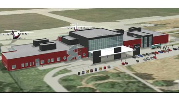 Pläne: Ob der Terminal in der Form umgesetzt werden kann, ist unklar.