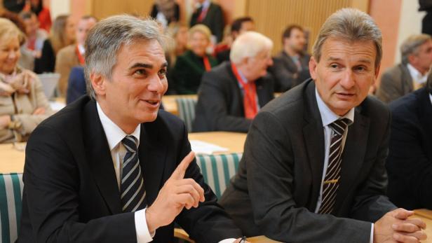 Wartet auf das Sparpaket von Bundeskanzler Faymann und der ÖVP: ÖGB-Präsident Erich Foglar