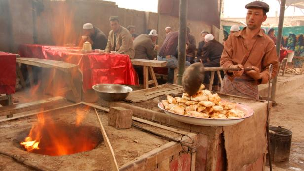 Markt von Kashgar