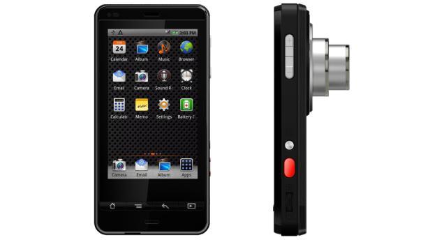 Polaroid SC1630 Smart Cam mit Android-Betriebssystem, präsentiert während der CES 2012.