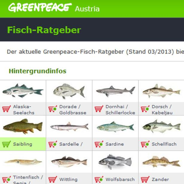 Fischratgeber: Auch für unterwegs