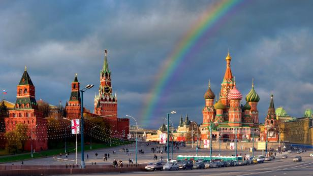 Moskau ist eine Metropole der Kirchen und Kathedralen.