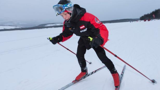 Angie Hohenwarter: Langlauf wird nicht ihr Lieblingssport.