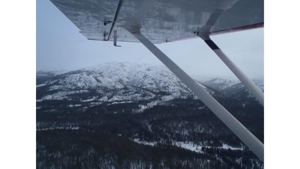 Ausflug über den Yukon.