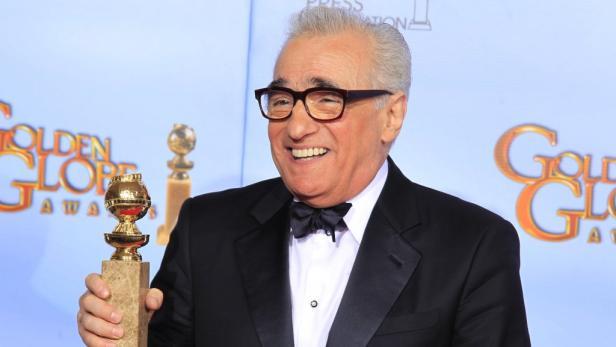 """Altmeister Martin Scorsese wurde mit """"Hugo Cabret"""" bester Regisseur."""