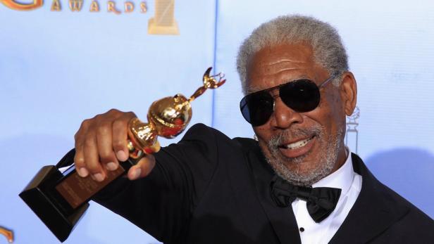 Für sein Lebenswerk geehrt: Morgan Freeman