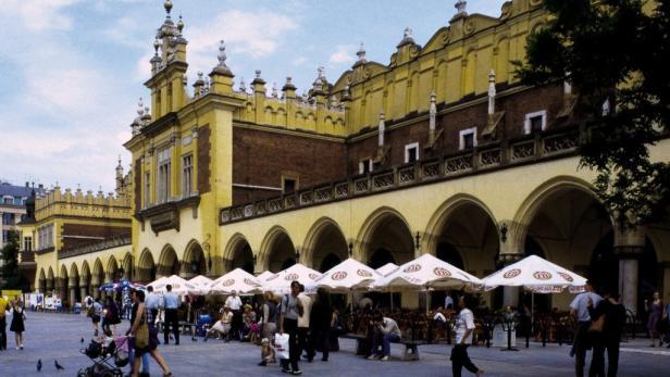 Andere attraktive und viel besuchte Städteziele sind Krakau (Kraków), ...