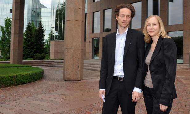 Jetzt am Ruder: Lars und Meike Schlecke