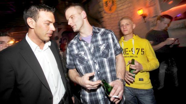 ... wirbt Peschek in Discos für die rote Kümmerpolitik