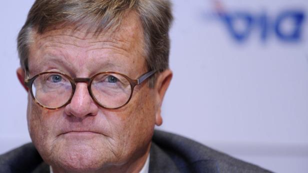 Strammer Rechtsprofessor: Stiftungsvorstand Waldemar Jud.