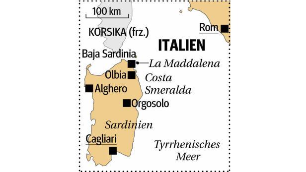 Grafik Sardinien